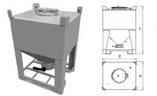 DCD - Силос IBC контейнер