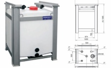 PCPE - Дозирующий IBC контейнер
