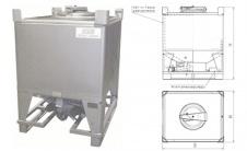 HFL - IBC контейнер с жидкостным обогревом