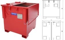 WBFE - IBC контейнер для твердых материалов