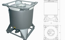 CS - Цилиндрический IBC контейнер для жидкостей
